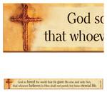 Christian Art Gifts John 3:16 - Magnetic Strip