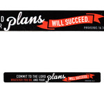 Christian Art Gifts Commit to the Lord - Magnetic Strip - Proverbs 16:3