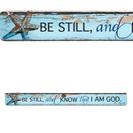 Christian Art Gifts Be Still - Magnetic Strip - Psalm 46:10