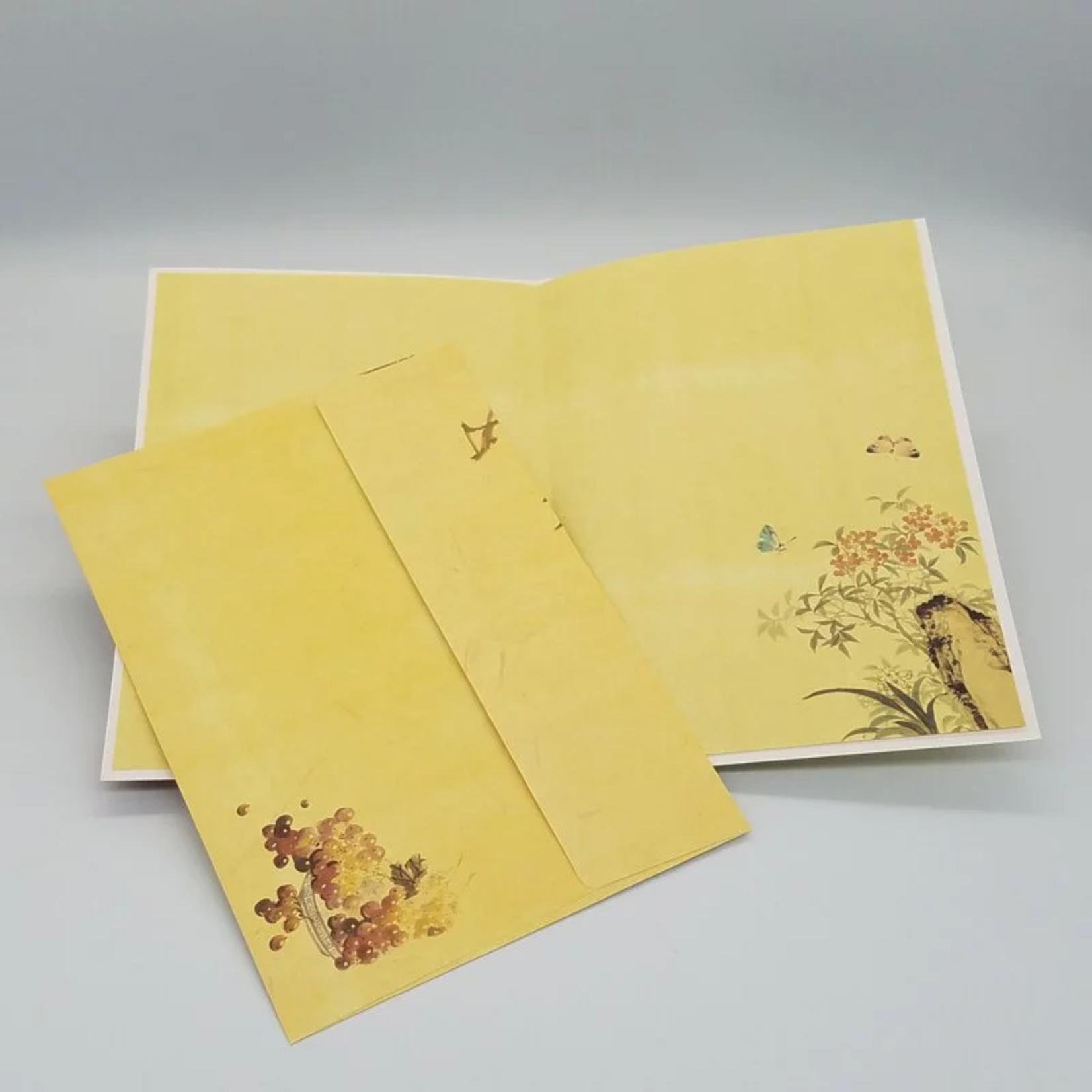 芥菜種 Kelvin Collections 新國畫賀卡:壽