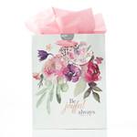 Christian Art Gifts Rejoice - Medium Gift Bag