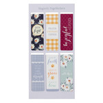 Christian Art Gifts Daisy - Magnetic Bookmark Set