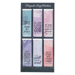 Christian Art Gifts Scenic - Magnetic Bookmark Set