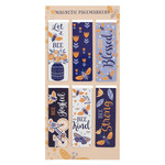 Christian Art Gifts Let It Bee - Magnetic Bookmark Set