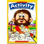 純真 Mount-kidz Jesus' 12 Apostles Activity Coloring & Learning Book