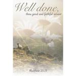 B&H Publishing Group Bulletin - Thou Good and Faithful Servant (Funeral) (Pkg 100)