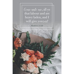 B&H Publishing Group Bulletin - I Will Give You Rest (Funeral) (Pkg 100)