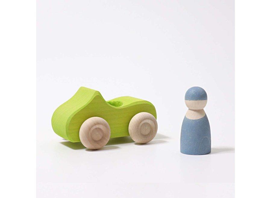 Convertible  Car Green