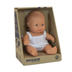 Miniland Miniland Caucasian Girl 21cm
