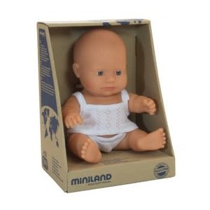Miniland Miniland Caucasian Boy 21cm