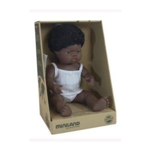 Miniland Miniland African Boy 38cm