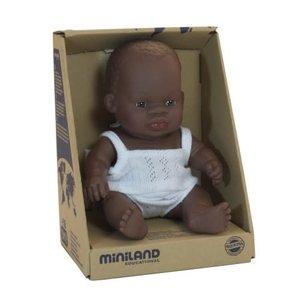 Miniland Minland African Girl 21 cm