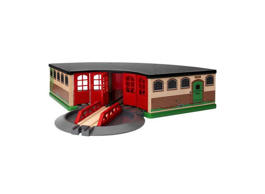 Brio Grand Roundhouse Train