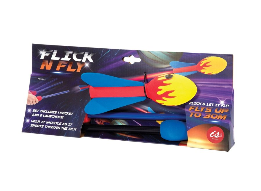 Flick and Fly Rocket