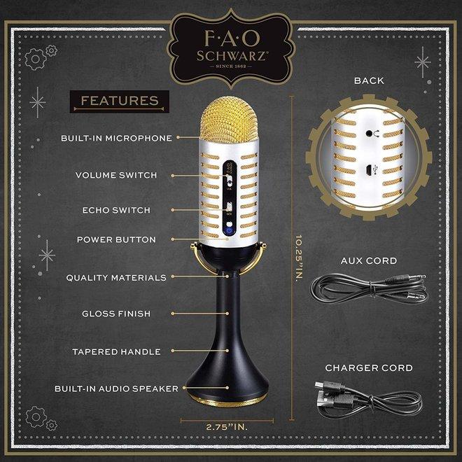 Musical Bluetooth Microphone