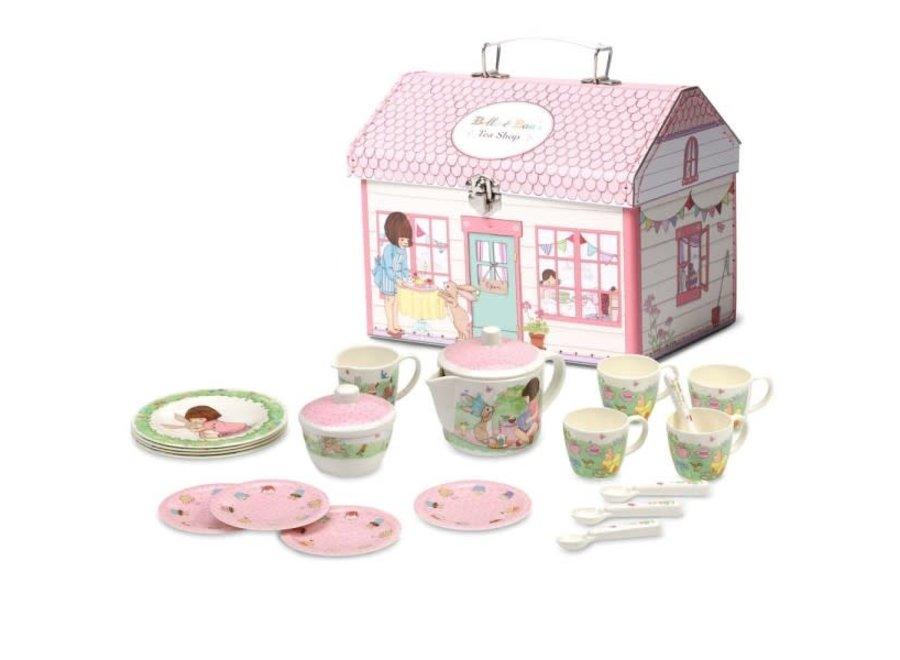 Belle & Boo Tea Shop Tea Set House Box