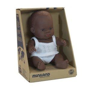 Miniland Miniland African Boy 21cm