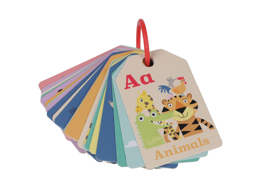 Alphabet Flash Cards Animal ABC