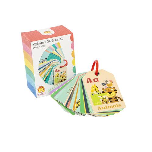 Tiger Tribe Alphabet Flash Cards Animal ABC