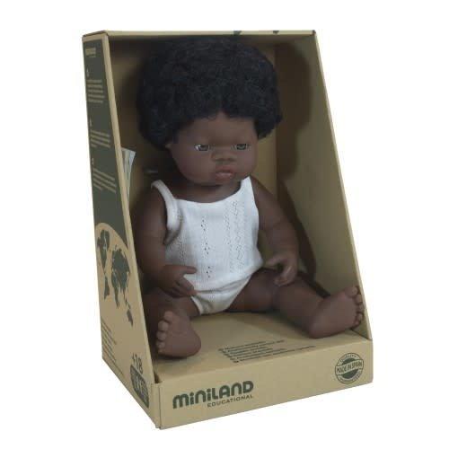 Miniland Miniland African Girl 38cm