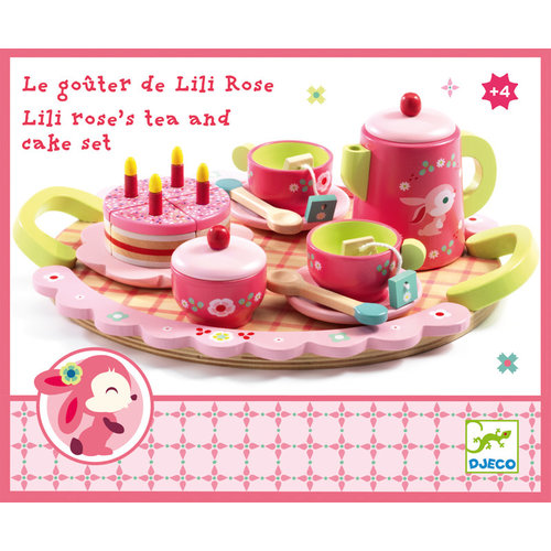 Djeco Djeco Lili Rose Tea Party