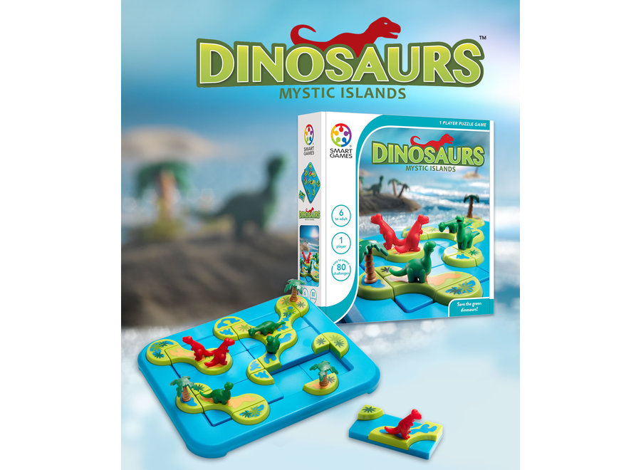 Dinosaurs Mystic Islands by Smart Games