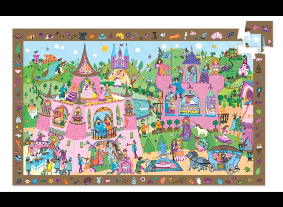 Djeco Princess 54pc Observation Puzzle