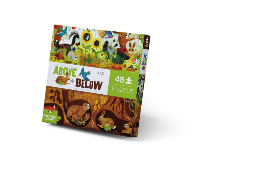 48-pc Above & Below Backyard Discovery Puzzle