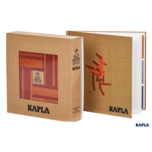 Book and Colours Kapla Red/Orange