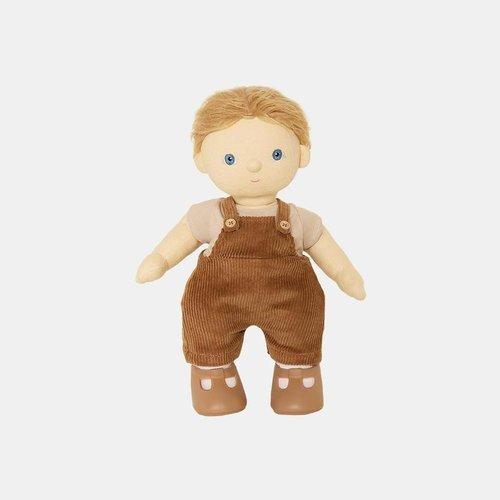 Olliella Dinkum Doll Esa Overalls Set