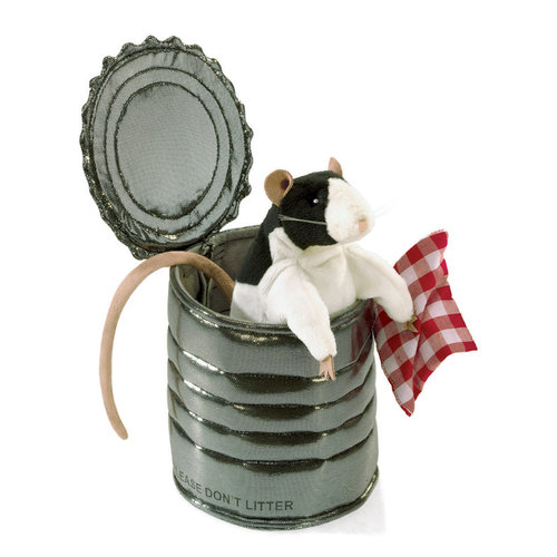 Rat in a Tin Can Puppet
