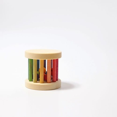 Grimms Mini Rainbow Rolling Wheel