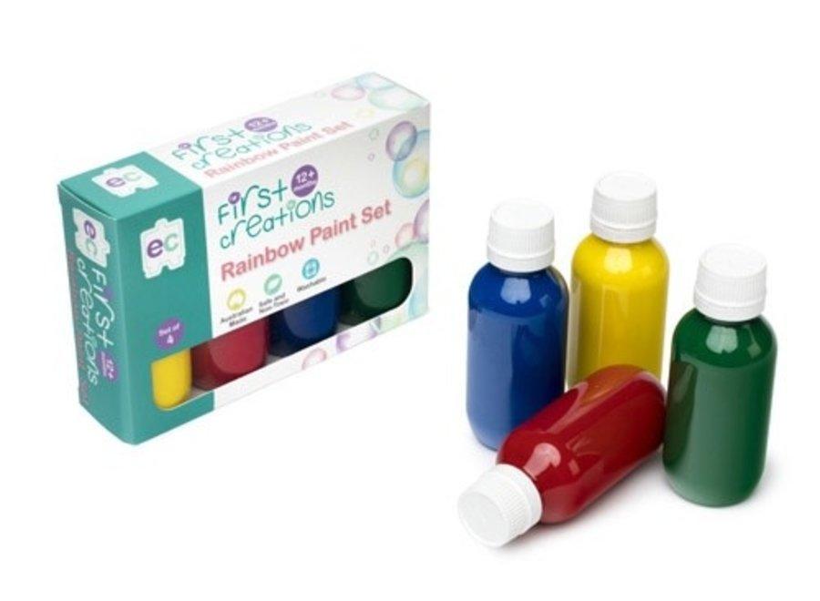 First Creations Rainbow Paint Set