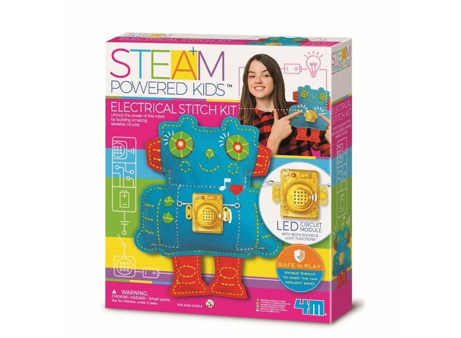 STEAM Stitch - A - Circuit Robot