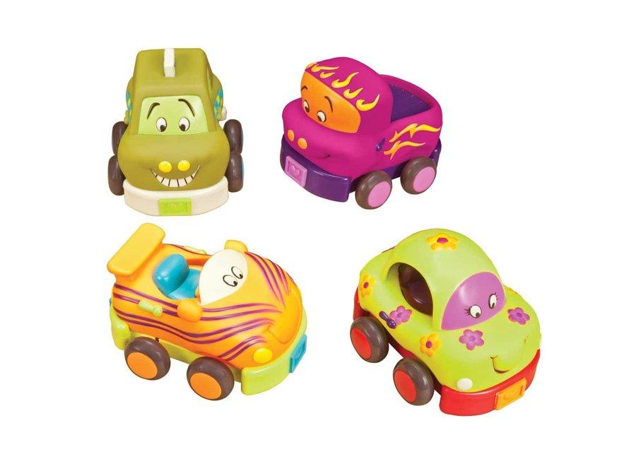 B. Wheeee-ls Pull back cars Set of 4
