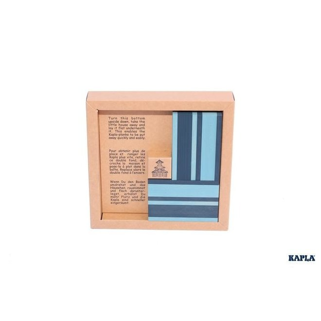 Book and Colours Kapla Blue