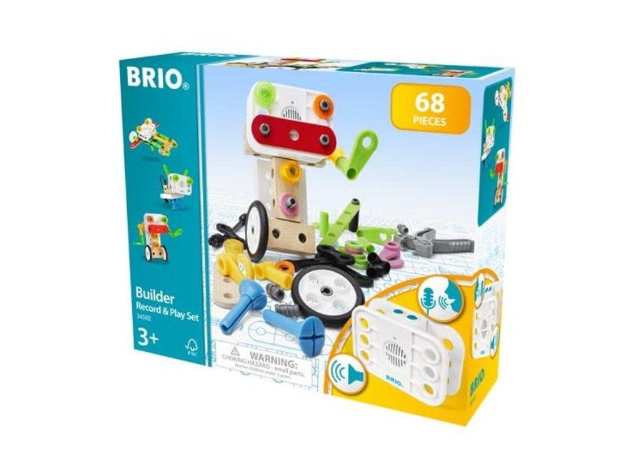 BRIO Builder Record Play Set