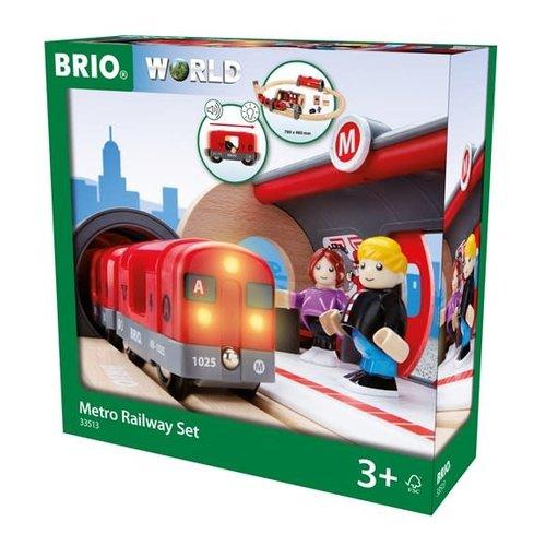 Brio Brio Metro Railway Kit