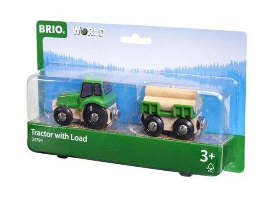 Brio Farm Tractor with Load