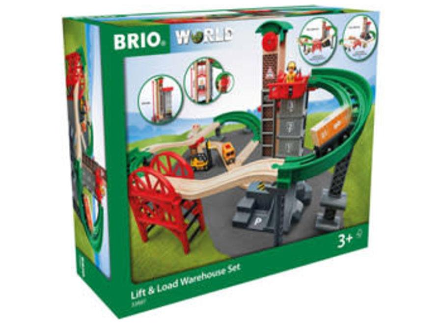 BRIO Lift and Load Warehouse Set