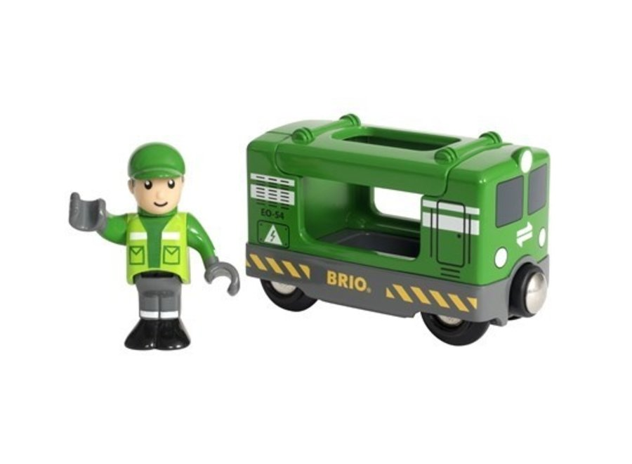 Brio Cargo Engine with Driver