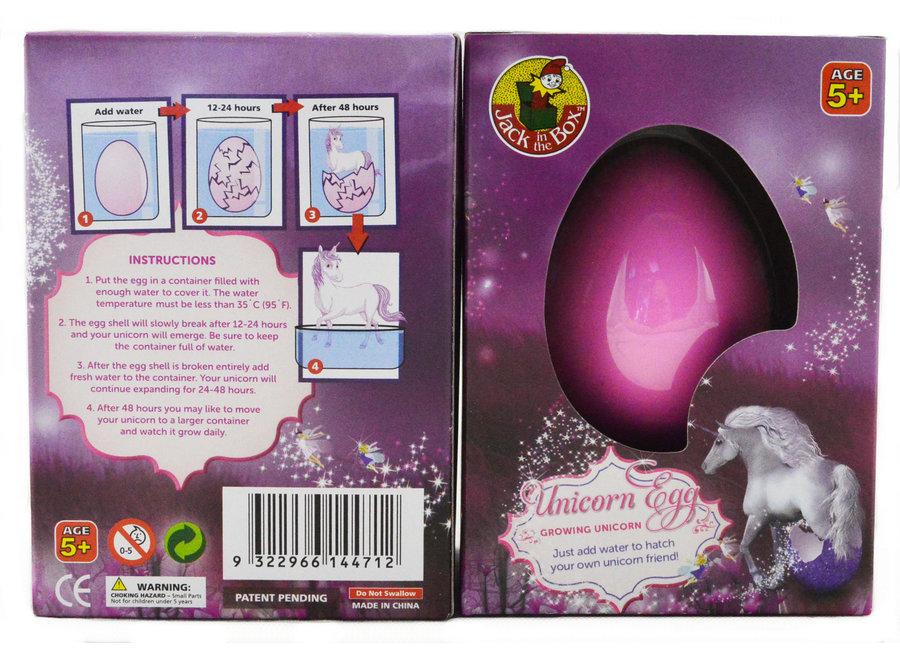 Growing Pet Unicorn Egg