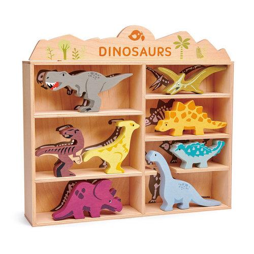 Tender Leaf Wooden Dinosaur Set