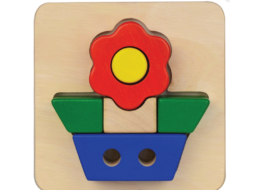 Flower Tray Puzzle