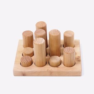 Grimms Grimms Stacking Game Small Natural Rollers