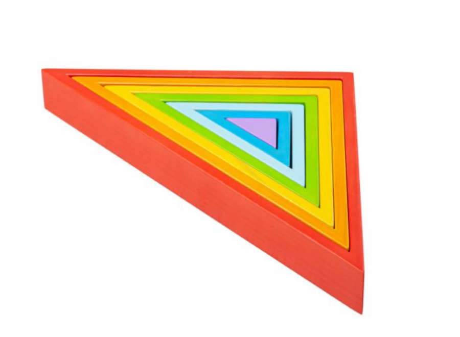 Bigjigs Wooden Stacking Triangles