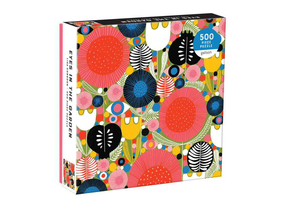 Galison 500 Pc Puzzle - Eyes in the Garden