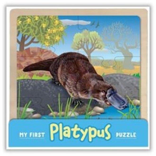 My First Wooden Jigsaw: Platypus