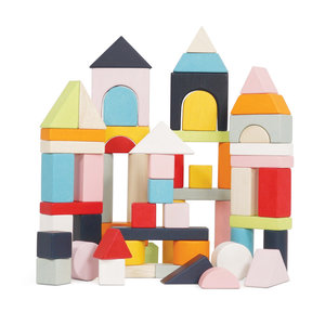 Le Toy Van Petilou 60 piece Building Blocks Set & Bag