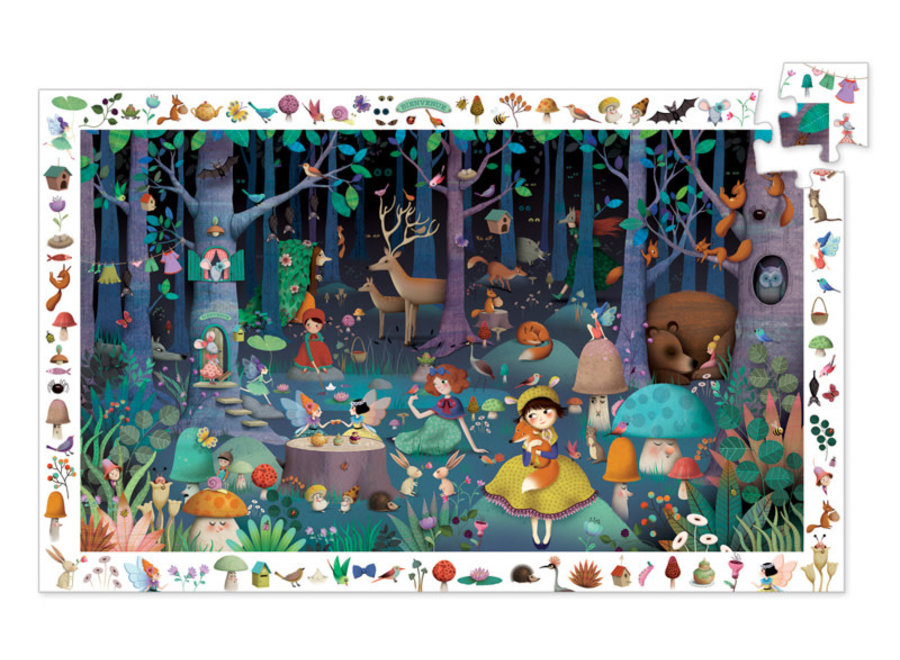 Djeco Enchanted Forest Puzzle 100 pce